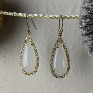 Anthropologie Tear Drop Earrings